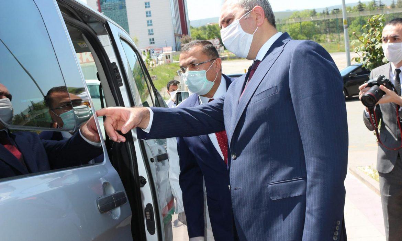 Adalet Bakanımız'dan Ziyaret!