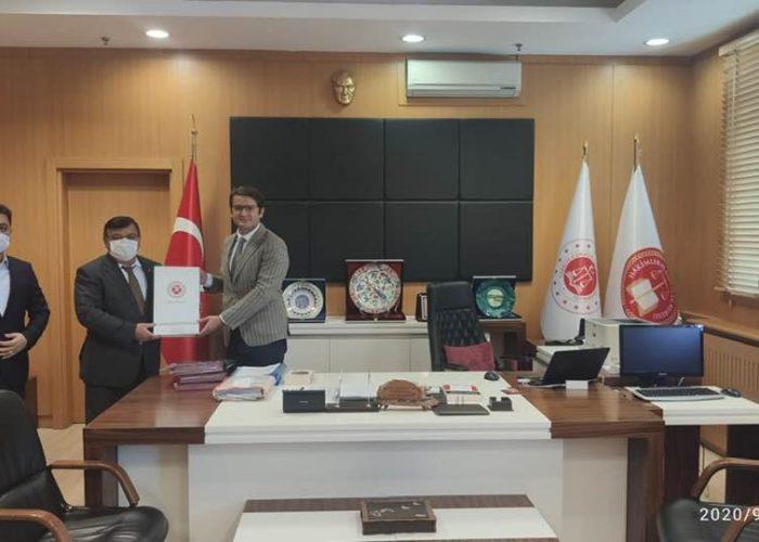 Cumhuriyet Başsavcısı Sn. Oğuzhan Dönmez ve Adalet Komisyon başkanı Sn. Erhan Çavuşoğlu (2)
